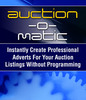 Auction O matic - E-bay Template Software & More!