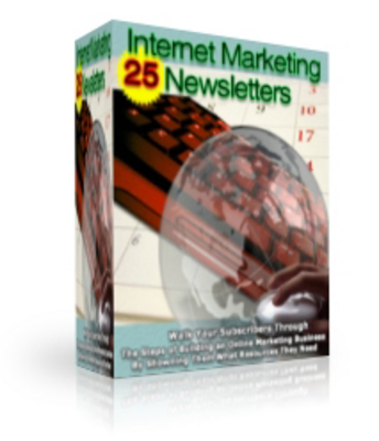 Product picture 24 Internet Marketing News Letters-Learn The Online Secrets!