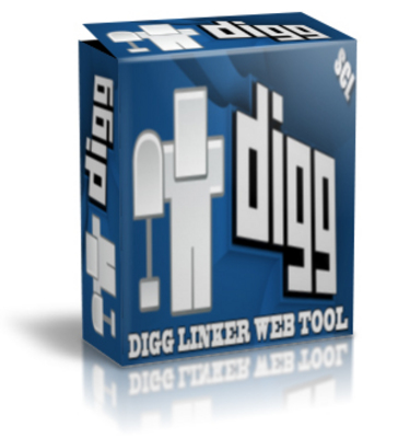 Product picture Digg Linker Web Tool-Create Digg Links & Post Blogs Fast!