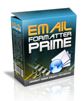 Product picture Email Formatter Prime -Content Formatting Solutions Software